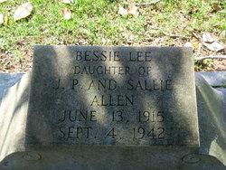 Bessie Lee Allen