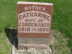 Catharine <I>Johnson</I> Shoemaker