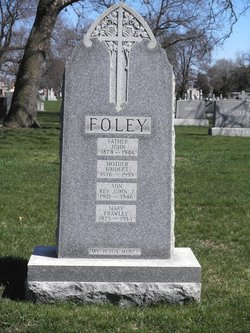 Bridget <I>Frawley</I> Foley
