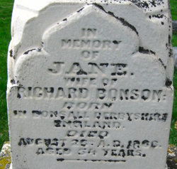 Jane <I>Burton</I> Bonson