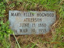 Mary Ellen <I>Hogwood</I> Atkerson