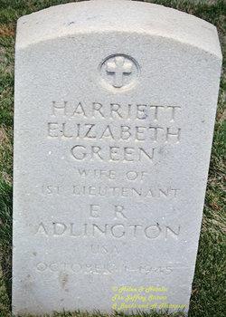 Harriett Elizabeth Adlington