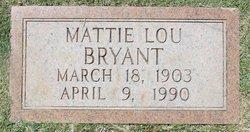 Mattie Lou Bryant