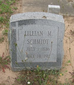 Lillian M <I>Grohman</I> Schmidt