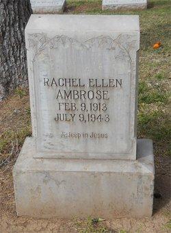 Rachel Ellen <I>Tubbs</I> Ambrose