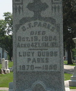 Lucy <I>Dubbs</I> Parks