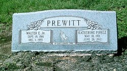 """Walter Emmett """"Buster"""" Prewitt, Jr"""
