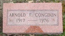 """Arnold Frederick """"Red"""" Congdon"""