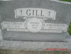 Alma Catherine <I>Gilbert</I> Gill