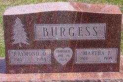 Martha Iverta <I>Hallam</I> Burgess