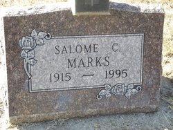 Salome Catherine <I>Puetz</I> Marks