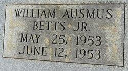 William Ausmus Betts, Jr