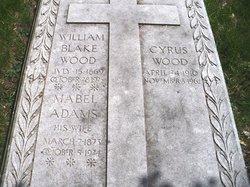 Mabel F <I>Adams</I> Wood