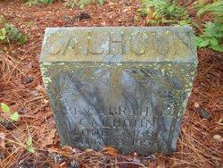 Rev Abraham M. Calhoun