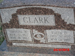 Vernetta Mae <I>Snider</I> Clark