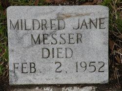 Mildred Jane Messer
