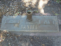 Carrie E <I>Byers</I> Daniel