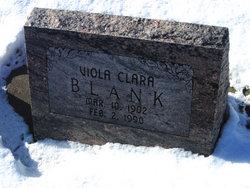 Viola Clara <I>Lenz</I> Blank