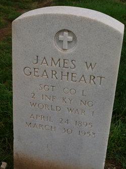 James W Gearheart