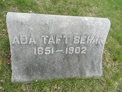 Ada <I>Taft</I> Behan