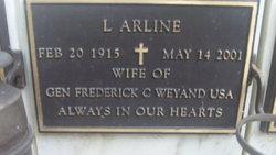 L Arline Weyand