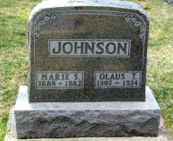 Marie S <I>Swenson</I> Johnson