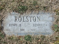 Henry Hopkins Rolston