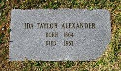 Ida <I>Alexander</I> Taylor