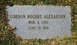 Gordon Rogers Alexander
