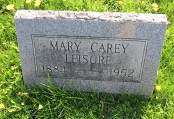 Mary Carey <I>Johnson</I> Leisure