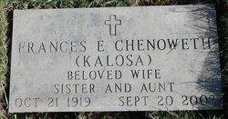 Frances Elizabeth <I>Kolasa</I> Chenoweth