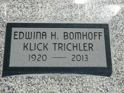Edwina H. <I>Bomhoff</I> Trichler