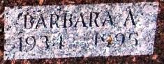 Barbara A. <I>Will</I> Angell
