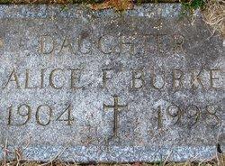 Alice <I>Faucher</I> Burke