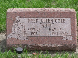 """Fred Allen """"Ault"""" Cole"""