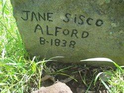 Jane <I>Sisco</I> Alford