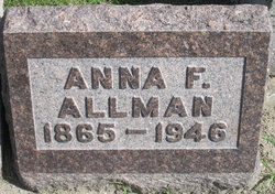 Anna Grace <I>Fisher</I> Allman