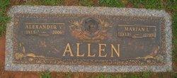 Marian Elizabeth <I>Lundy</I> Allen