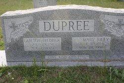 Mary Magdalene <I>Riley</I> Dupree