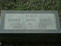 Eunice <I>Davis</I> Caples