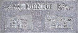 Jesse Weston Burbidge, Sr