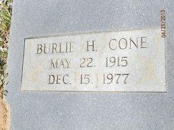 Burlie H. Cone