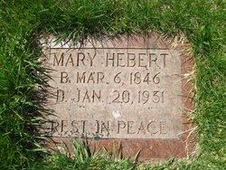 """Marie """"Mary"""" <I>Avon</I> Hebert"""