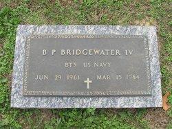 Benjamin Phillip Bridgewater, IV