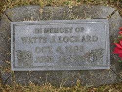 Watts Judson Lockard