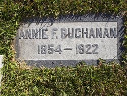 Annie <I>Francis</I> Buchanan