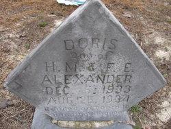 Doris E. Alexander
