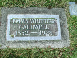 Emma Isoline <I>Whittier</I> Caldwell