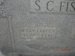 "Elizabeth ""Betty"" <I>Goosey</I> Fisher"