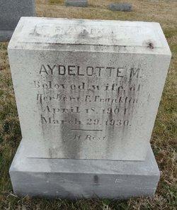 Aydelotte M Franklin